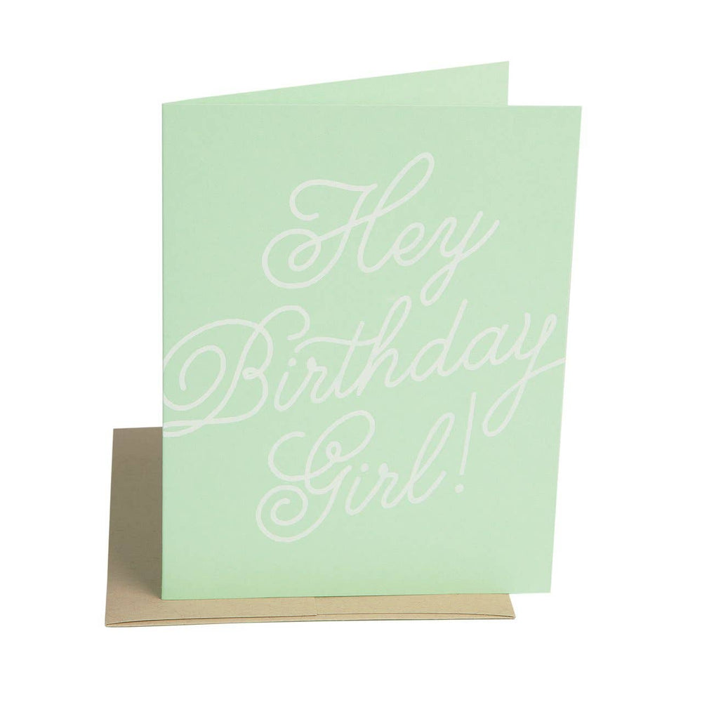 The Social Type - Hey Birthday Girl Card
