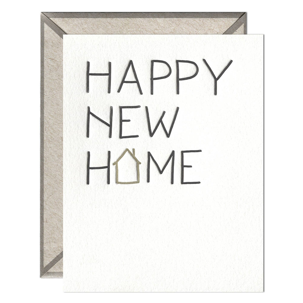 INK MEETS PAPER - Happy New Home - greeting card