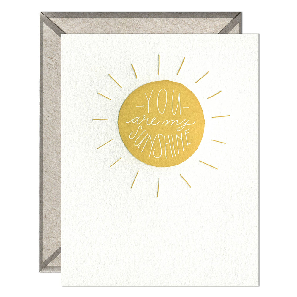 INK MEETS PAPER - My Sunshine - greeting card