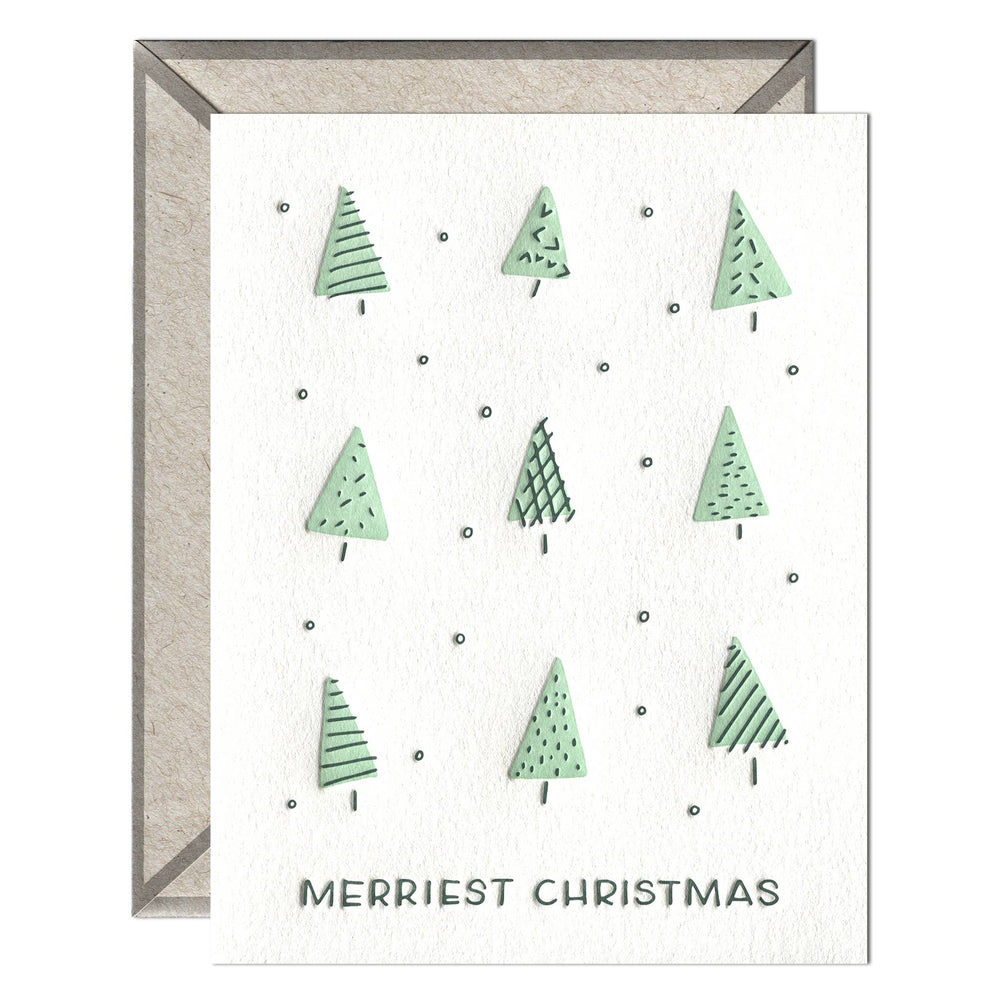INK MEETS PAPER - Merriest Christmas - greeting card