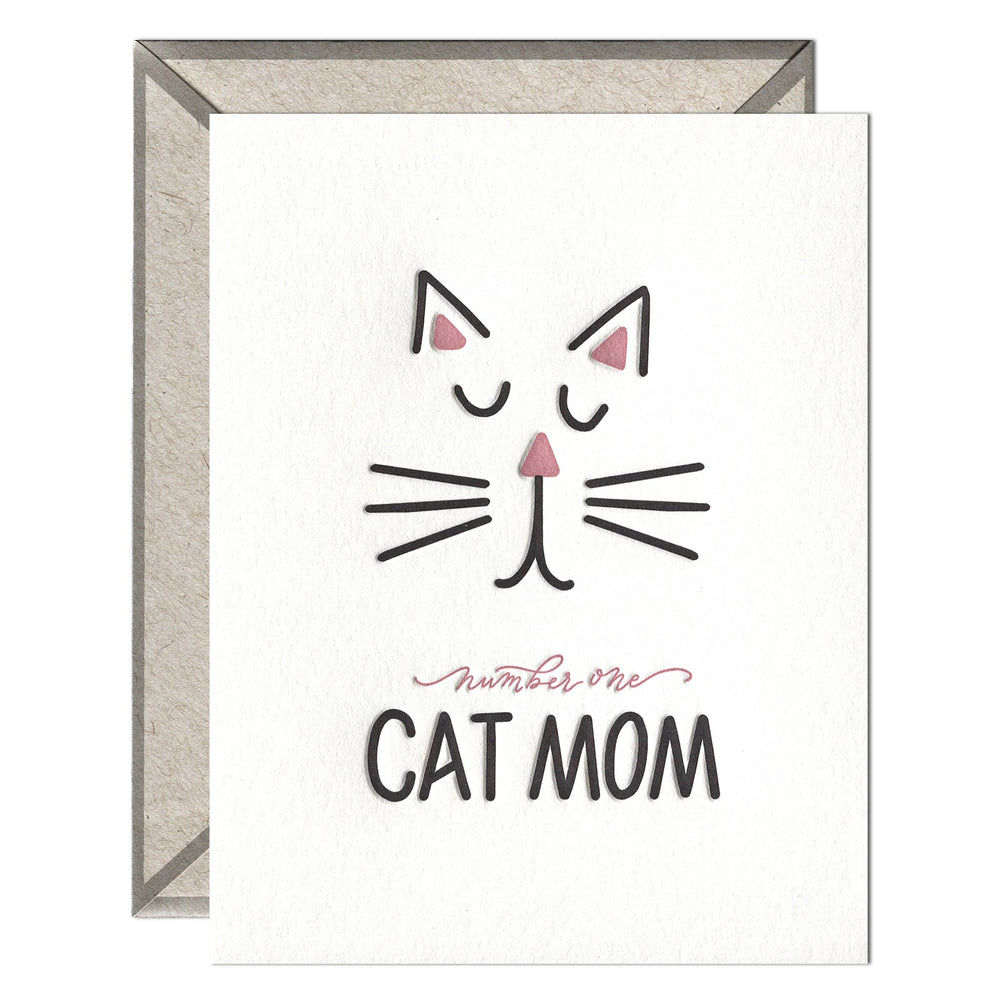 INK MEETS PAPER - Cat Mom - greeting card