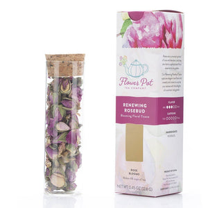 Flower Pot Tea Company - Renewing Rosebud Floral Tisane - Small Box