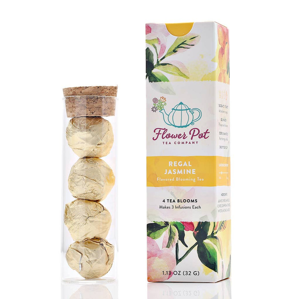 Flower Pot Tea Company - Regal Jasmine Blooming Tea