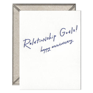 INK MEETS PAPER - Relationship Goals - greeting card