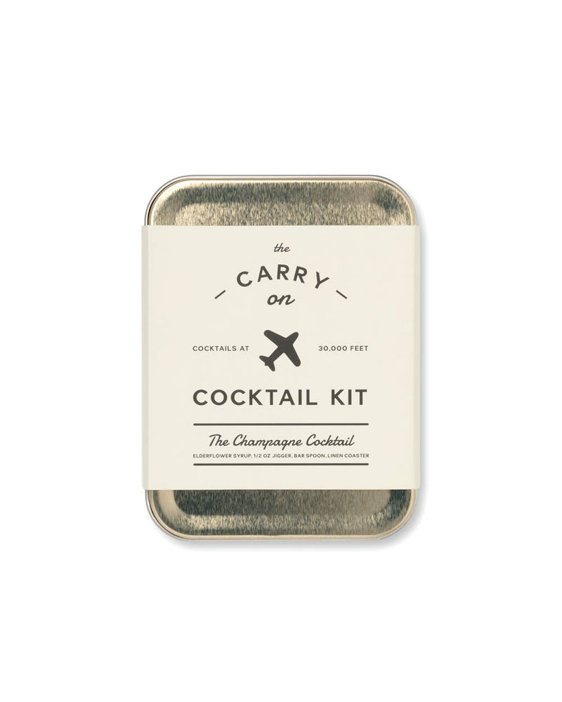 W&P - The Champagne Carry-On Cocktail Kit