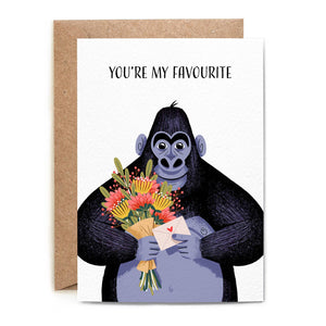 Folio - Love Gorilla Card