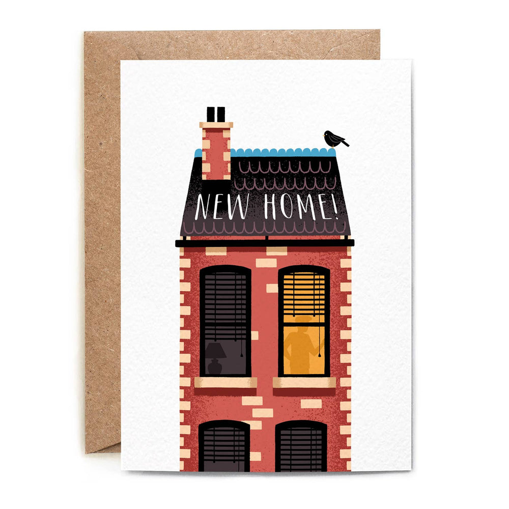Folio - Red Brick House New Home Card