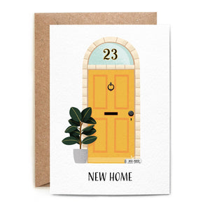Folio - Yellow Door New Home Card