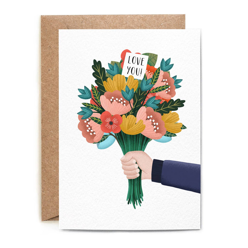 Folio - Bunch of Flowers Card