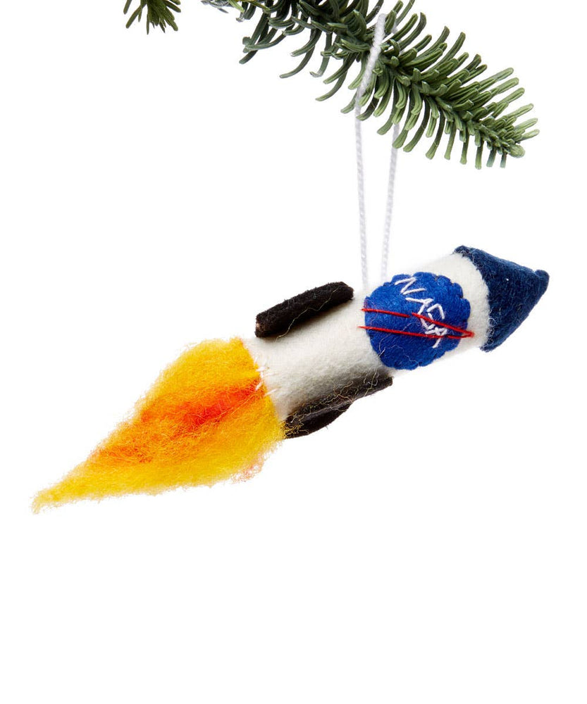 Silk Road Bazaar - NASA Rocket Ornament