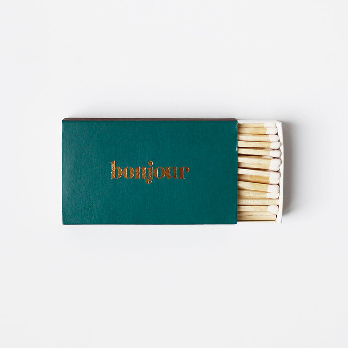Brooklyn Candle Studio - XL Statement Matches - Bonjour/Emerald