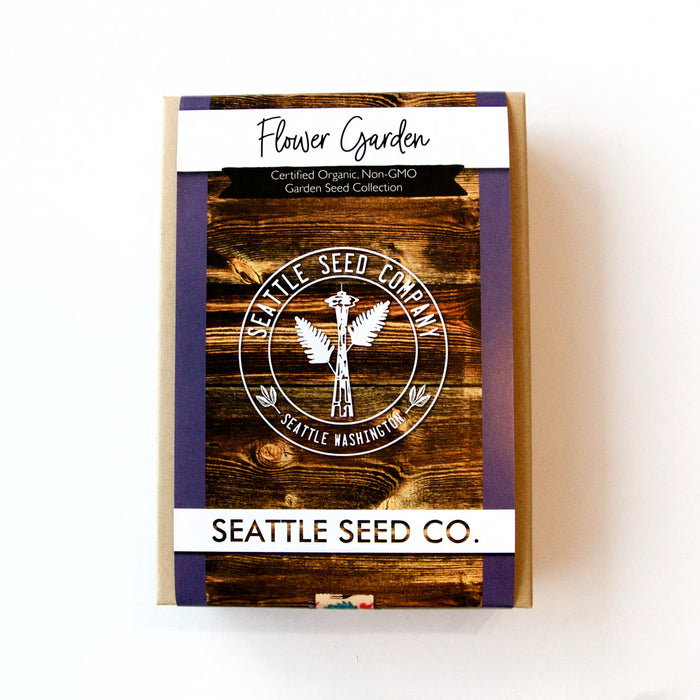 Seattle Seed Co. - Organic Seed Collection - Flower Garden