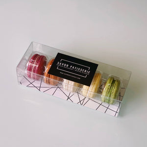 Savor Patisserie French Macarons - The Classics Box - Gift Box of 5
