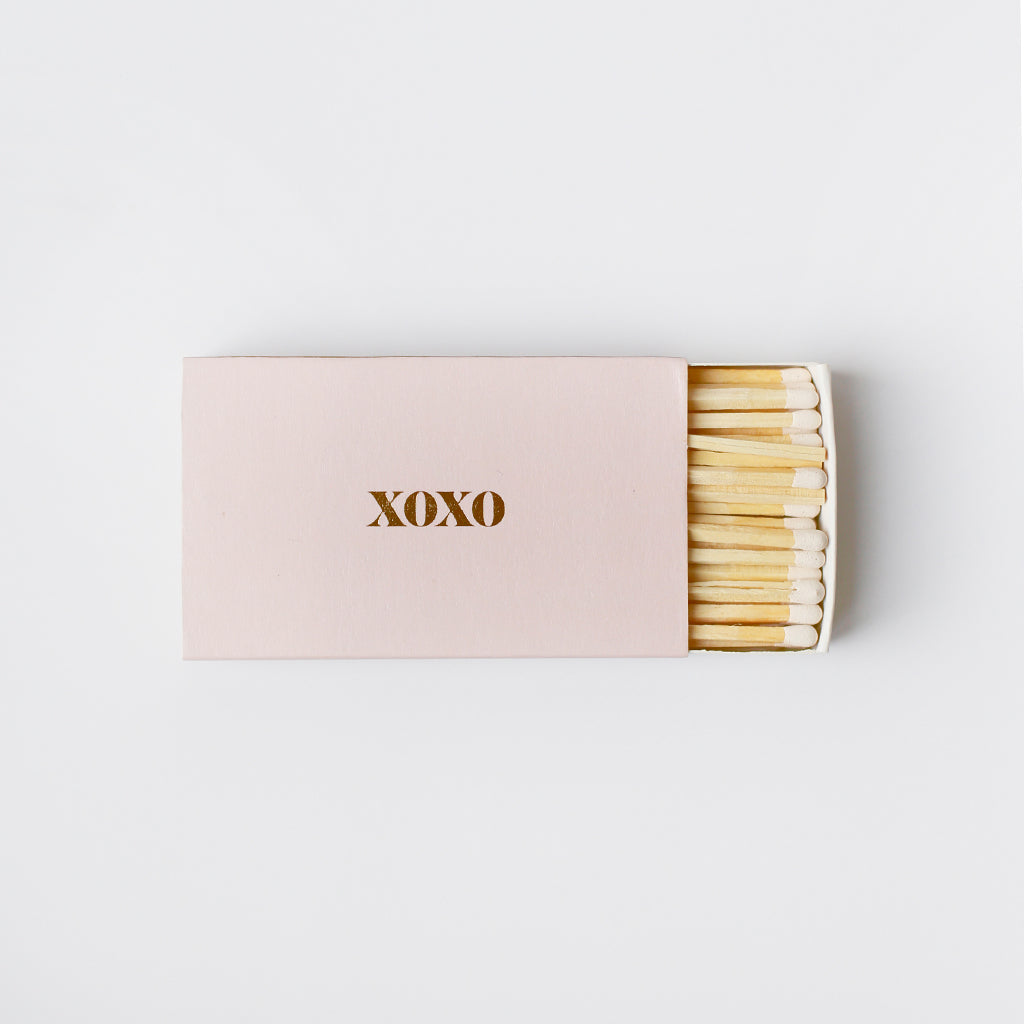 Brooklyn Candle Studio - XL Statement Matches - XOXO/Pink