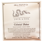 Oliver Pluff & Company - Colonial Bohea - 6 Teabags