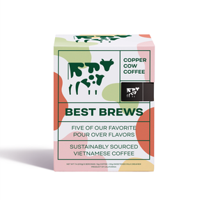 Copper Cow Coffee - Coffee - Best Brews Variety | 5 Pack