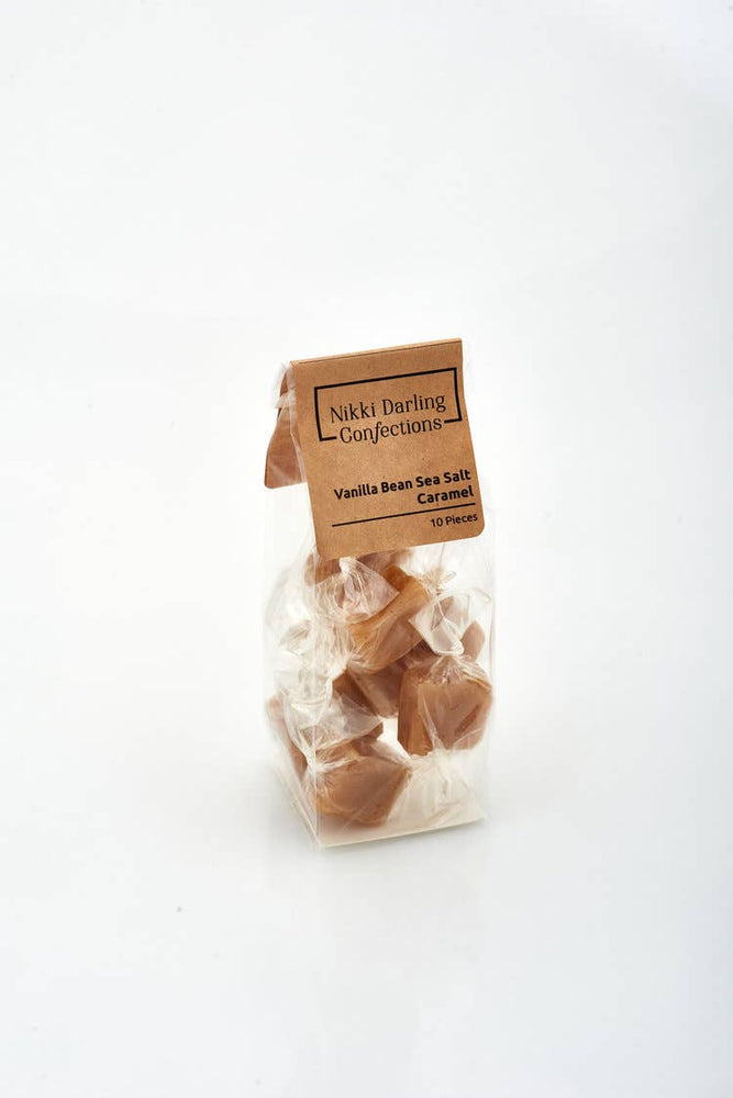 Nikki Darling Confections - Caramels - 10 Piece Bag
