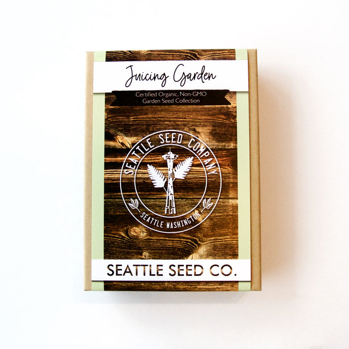 Seattle Seed Co. - Organic Seed Collection - Juicing Garden