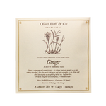 Oliver Pluff & Company - Ginger - 6 Teabags