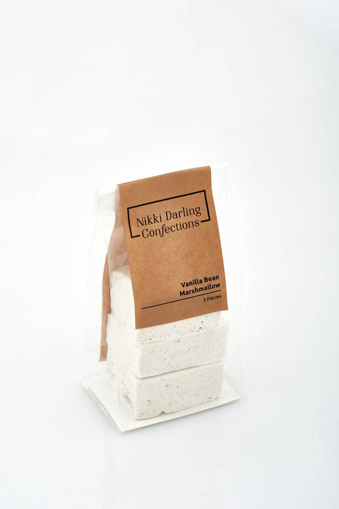 Nikki Darling Confections - Hand Crafted Marshmallows - 3 Piece Bag