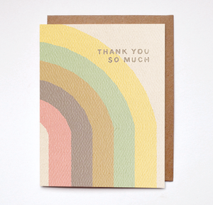 Daydream Prints - Thank You So Much Card