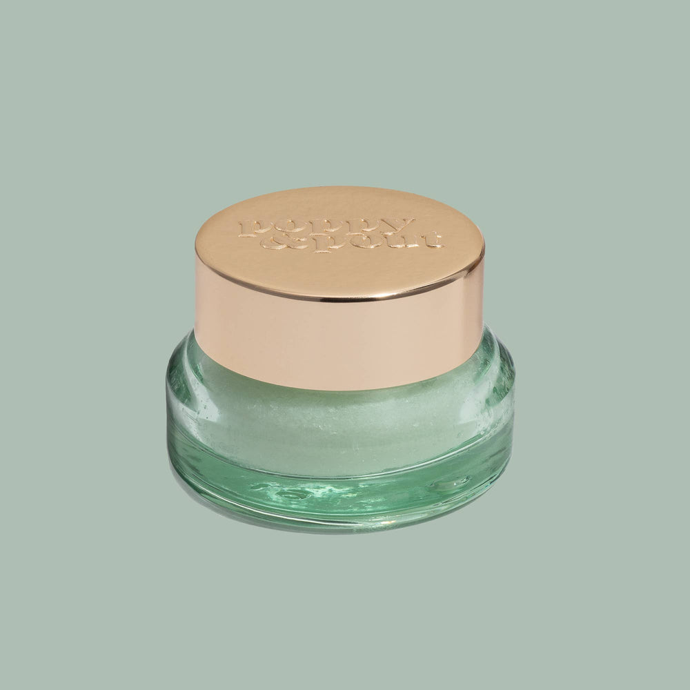 Poppy & Pout - Sweet Mint Lip Scrub