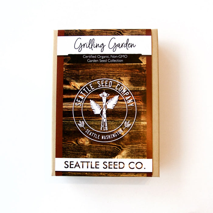 Seattle Seed Co. - Organic Seed Collection - Grilling Garden
