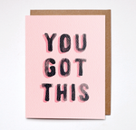 Daydream Prints - You Got This Card