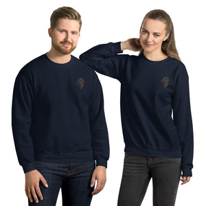 Unisex Embroidered Sweatshirt