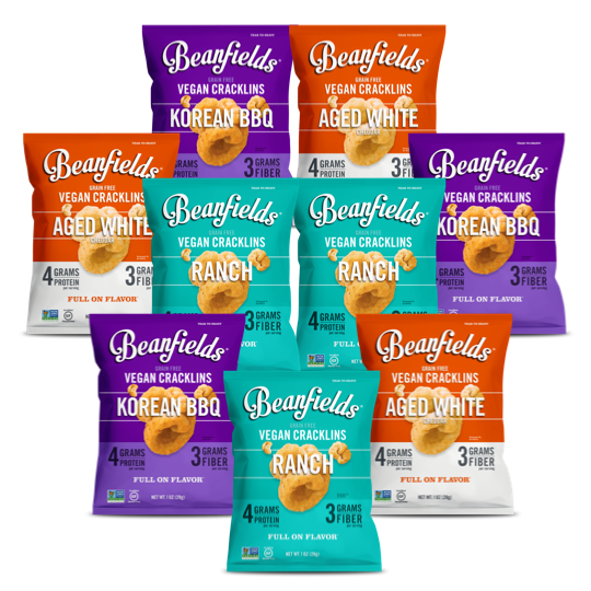 3 Flavor Cracklin Snack Variety Pack