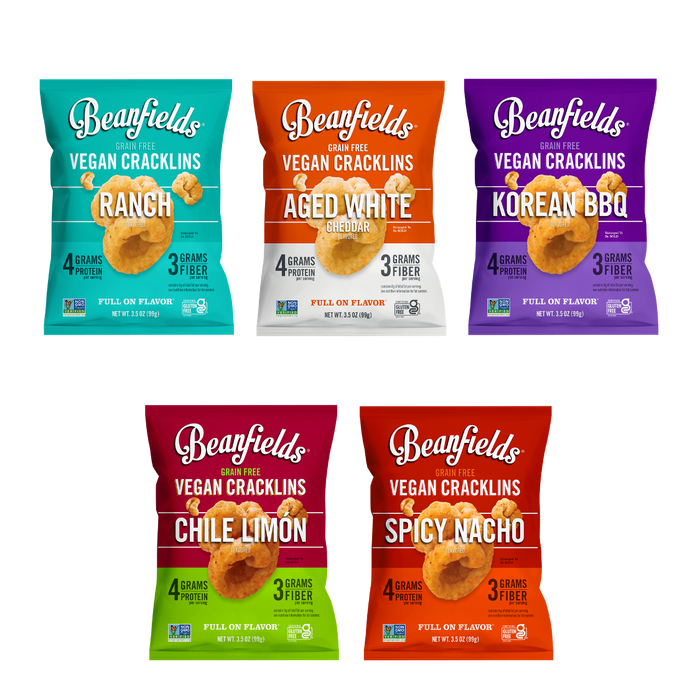 5 Flavor Cracklin Share Variety Pack