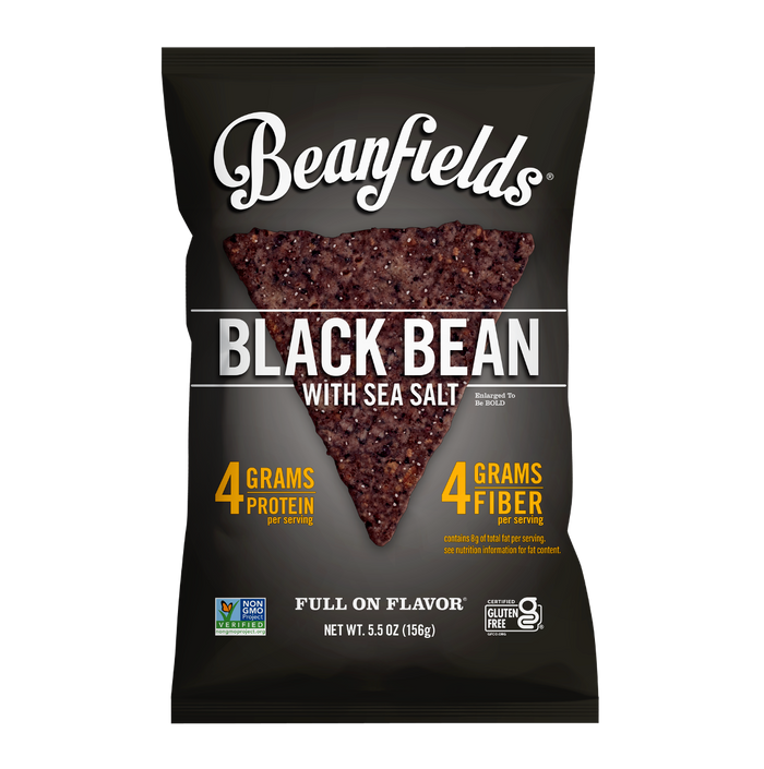 Black Bean & Sea Salt Bean Chips