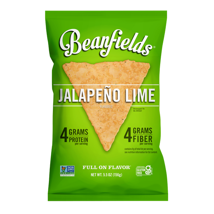 Jalapeño Lime Bean Chips