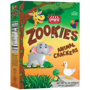 Paskesz Zookies Animal Crackers 340G