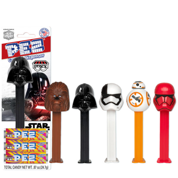 Paskesz Pez Dispenser Star Wars 25Gr