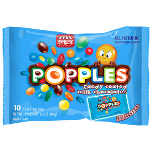 Paskesz Popples Milk Chocolate 10-Pack 180Gr