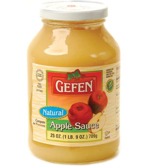 Gefen Natural Apple Sauce 709G