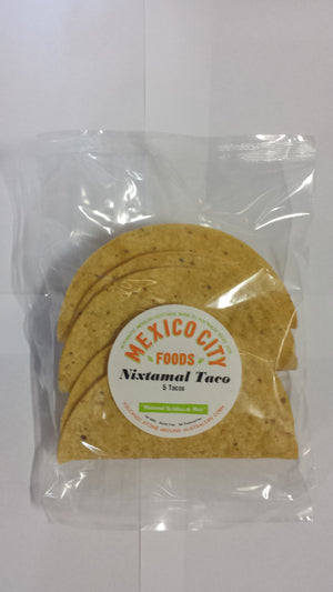 Mexico City Foods Taco Shells 6 Inch - 5 Piece