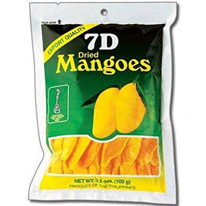 7 D Dried Mango 100Gr