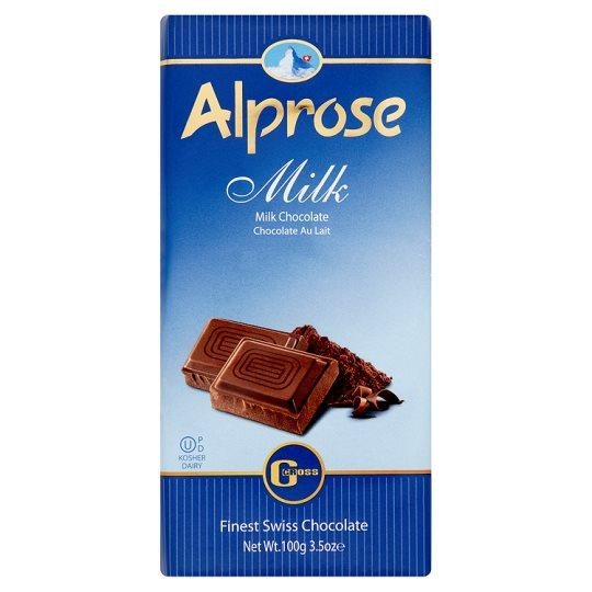 Alprose Milk Chocolate 100G