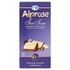 Alprose Two Tone Chocolate 100G
