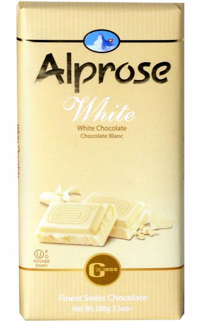 Alprose White Chocolate 100G