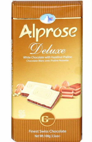 Alprose White Deluxe Chocolate  100G