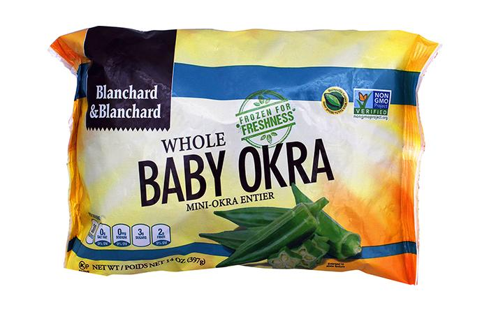 Blanchard Frozen Whole Baby Okra 397Gr