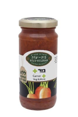 Beit Yitzchok Natural Veg & More Carrot Jam 284Gr