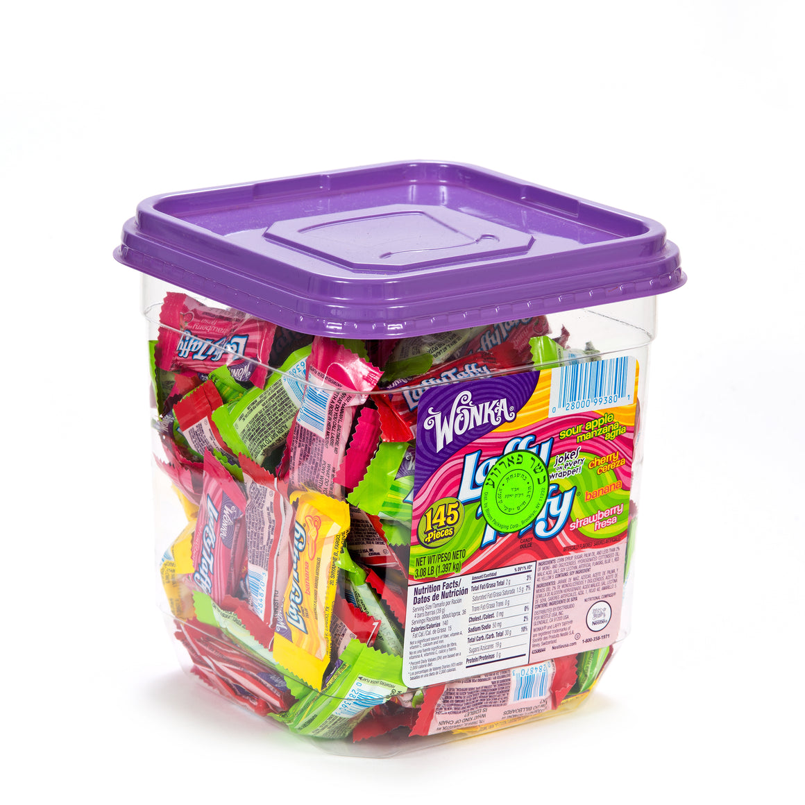 Blooms Laffy Taffy Variety Pack 145 Pieces 1.41kg