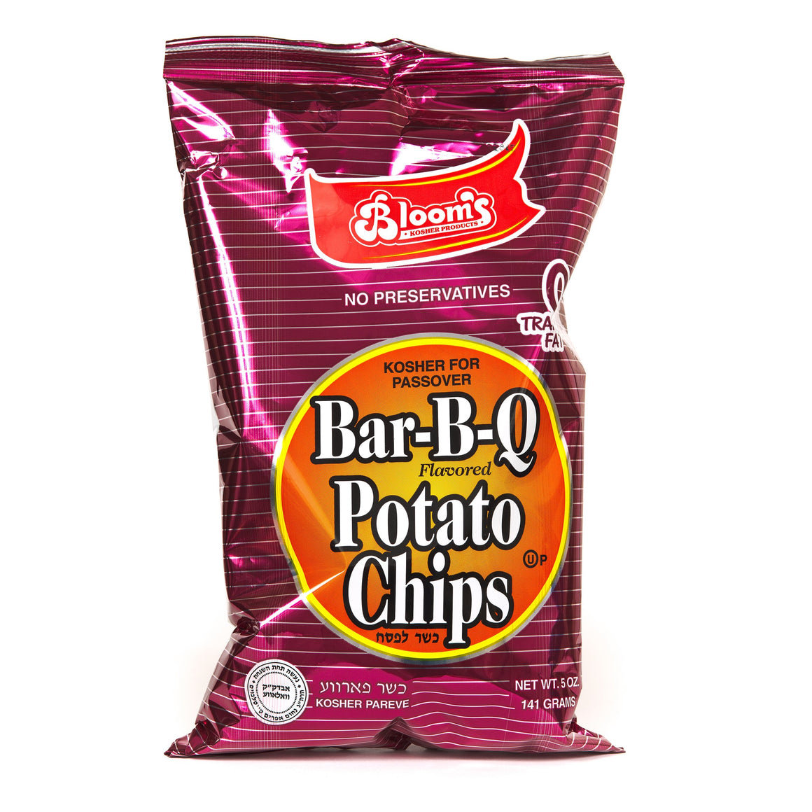 Blooms Potato Chips Bbq 142Gr