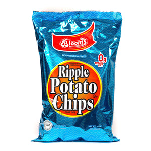 Blooms Potato Chips Ripple 396Gr