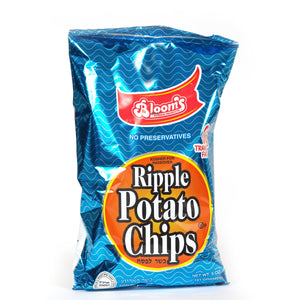 Blooms Potato Chips Ripple 142Gr
