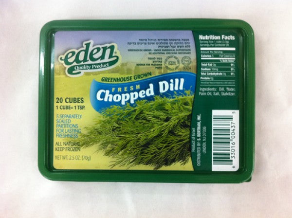 Eden Chopped Dill 70Gr